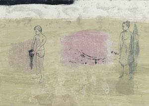 Caroline Kober, 'Eurydikes Traum', Bl. 1, 2004, Acryl auf Papier, 30 X 40 cm