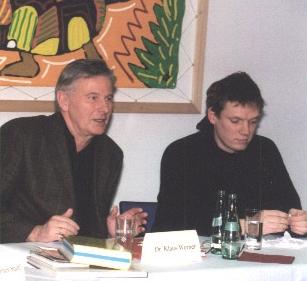 Klaus Werner (li.) und Michael Fischer-Art