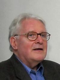 Eduard Beaucamp sprach zur Ausstellungseröffnung