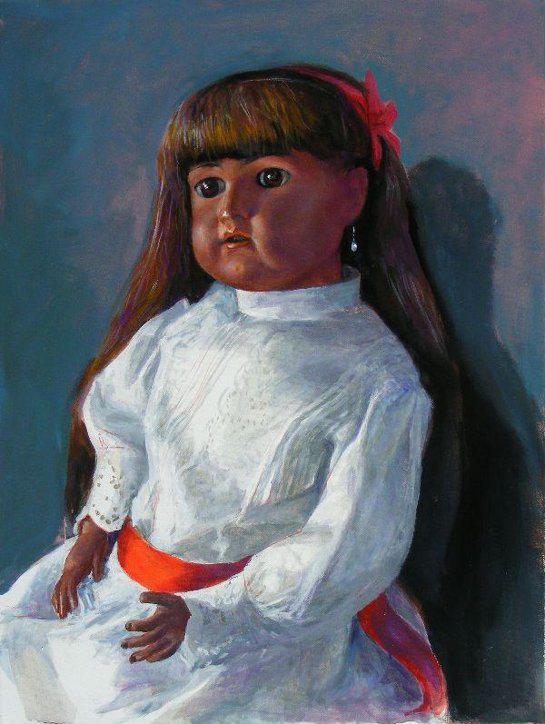 Gudrun Brüne, 'Bernhard Heisig mit Gudrun Portrait', 2011