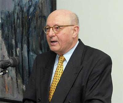 Prof. Eberhard bei \