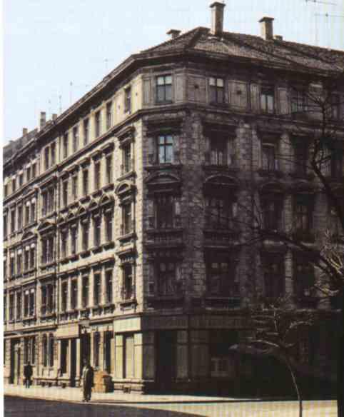 Das Gebäude Hedwigstr. 3 im Jahe 1990