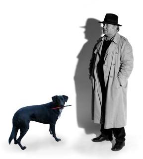 Gerd Dengler mit Assistentin Quinta
