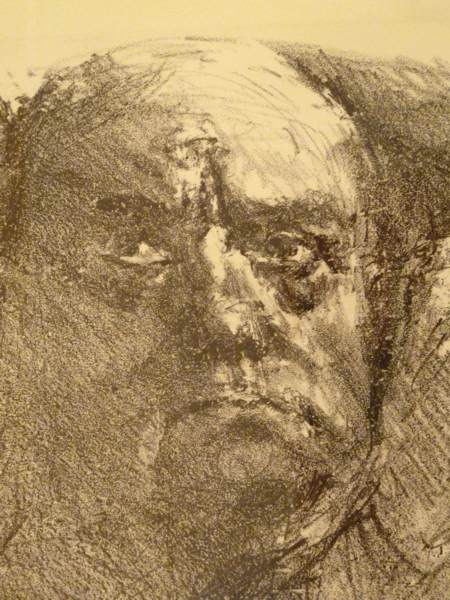 Bernhard Heisig, 'für Max Beckmann', 1983