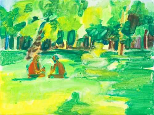 Britta Schulze, 'Im-Park', 2005, 35x26cm