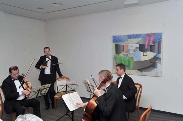 Reinhold Quartett, Mithglieder des Gewandhausorchesters Leipzig