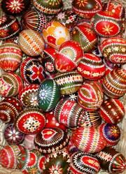 Sorbische Ostereier von Saane Süßmilch