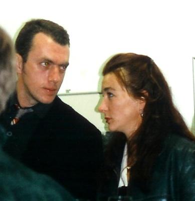 Neo Rauch und Rosa Loy im Leipziger Hof